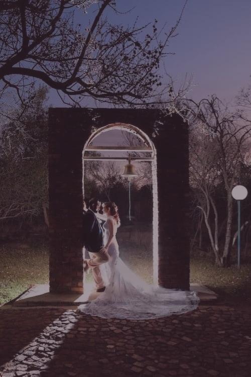 wedding ceremony at Altydgoed Wedding Venue