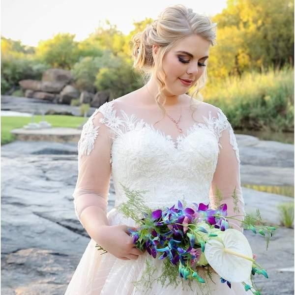 Altydgoed wedding venue bride 1